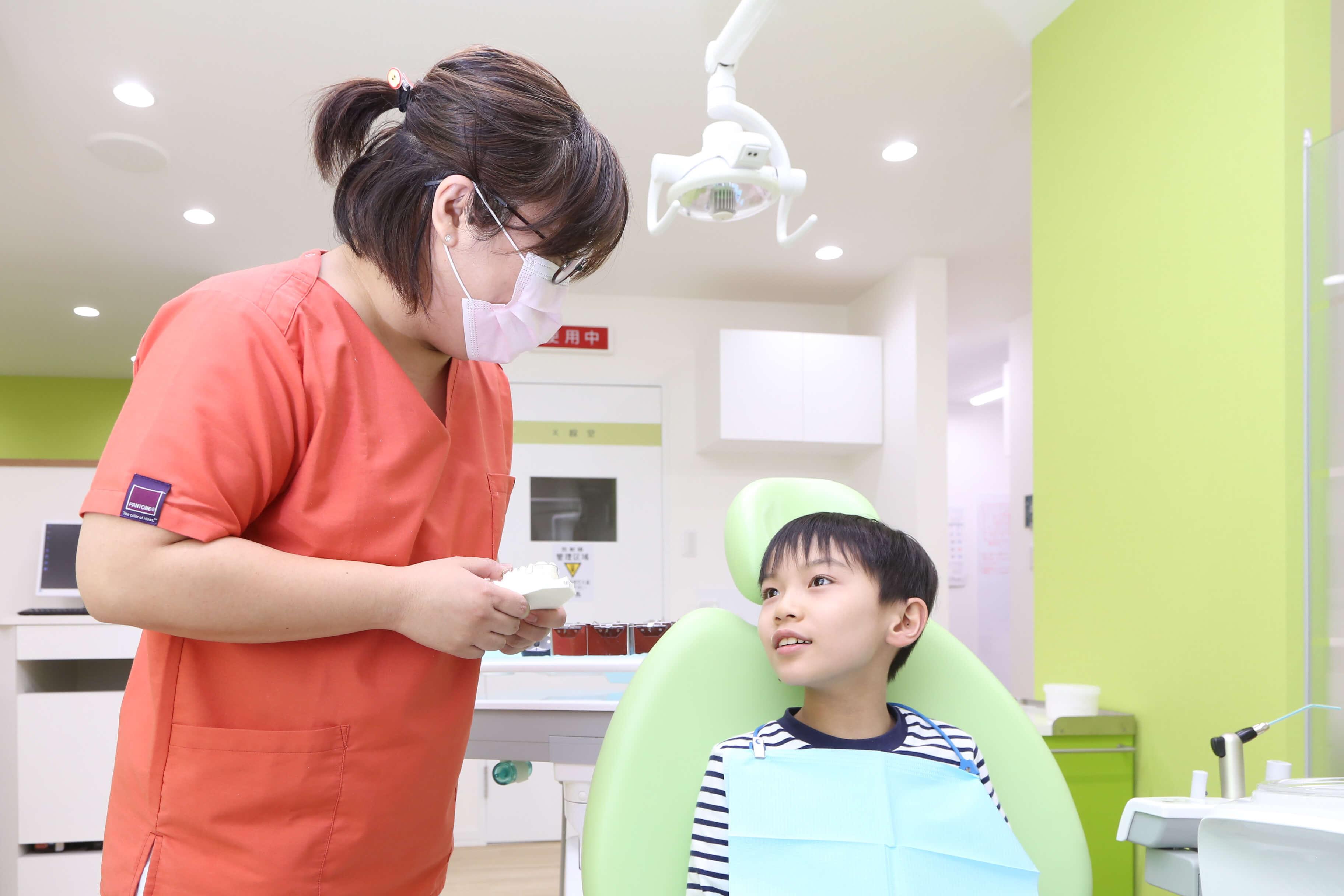 当院における小児歯科の対象年齢