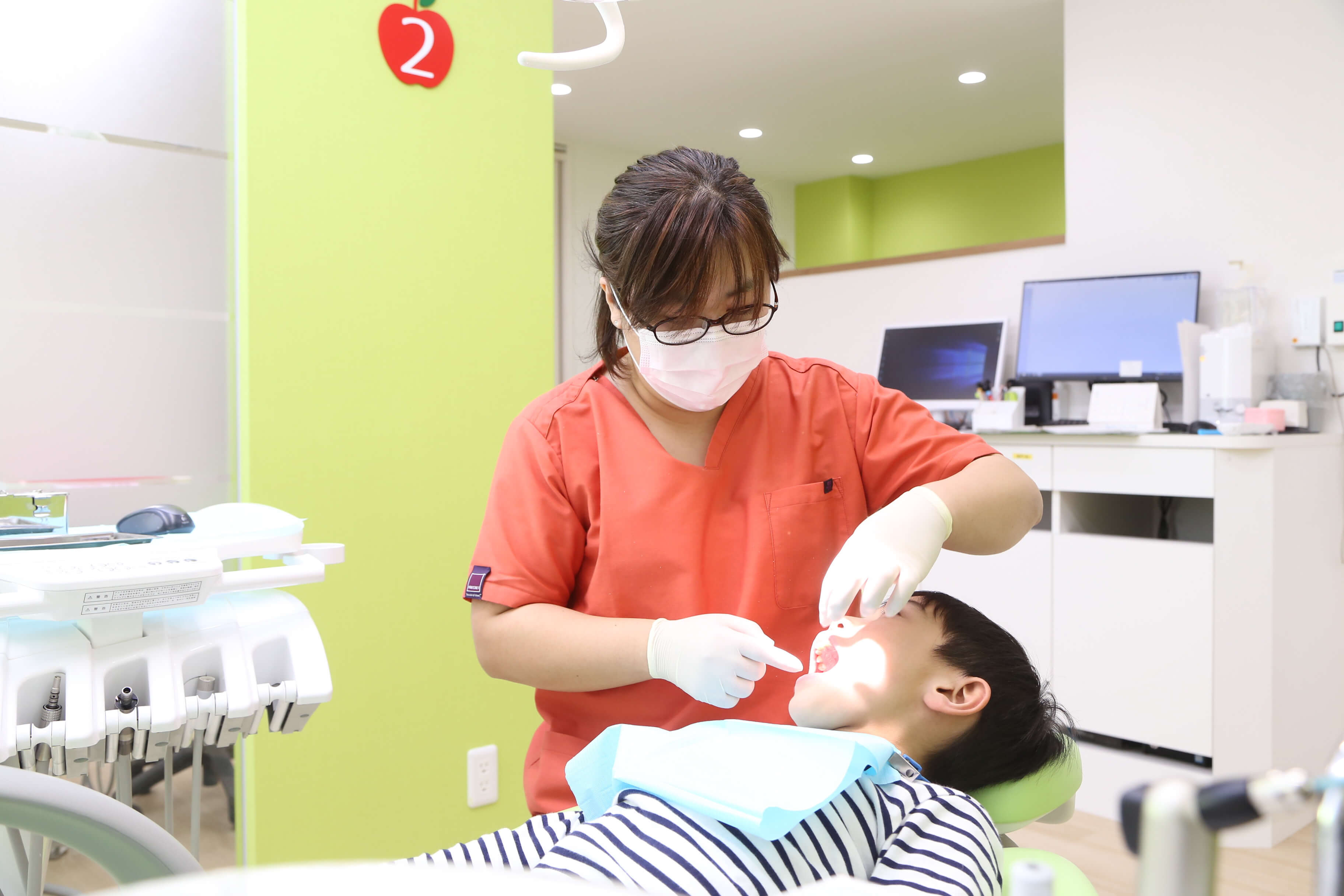 ①歯のクリーニングPMTC